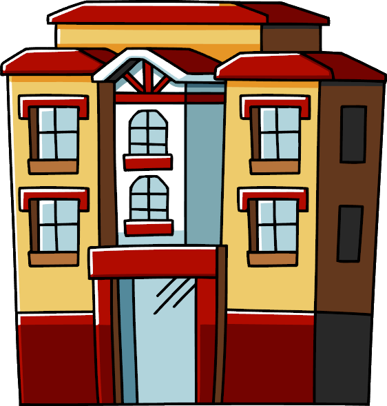 Apartment Clipart PNG Image