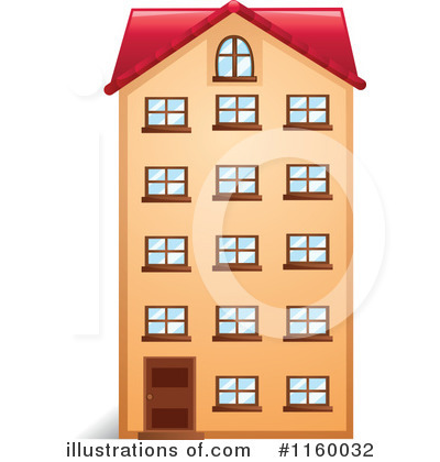 Royalty-Free (RF) Apartment Clipart Illustration #1160032 by Graphics RF