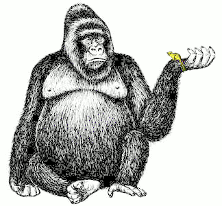 Ape Clip Art #10-ape clip art #10-4