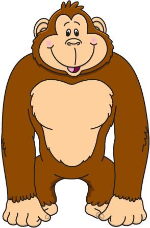 Ape Clip Art-Ape Clip Art-6