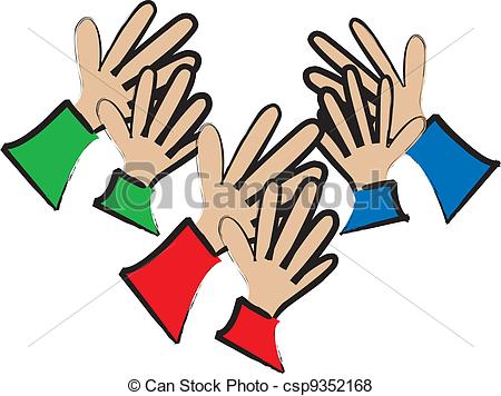 Applause From The Audience -  - Applause Clipart