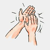 Applause Clipart Clapping Hands Royalty Free. of pair of clapping hands