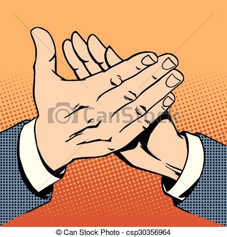 hands applause success bravo - csp30356964