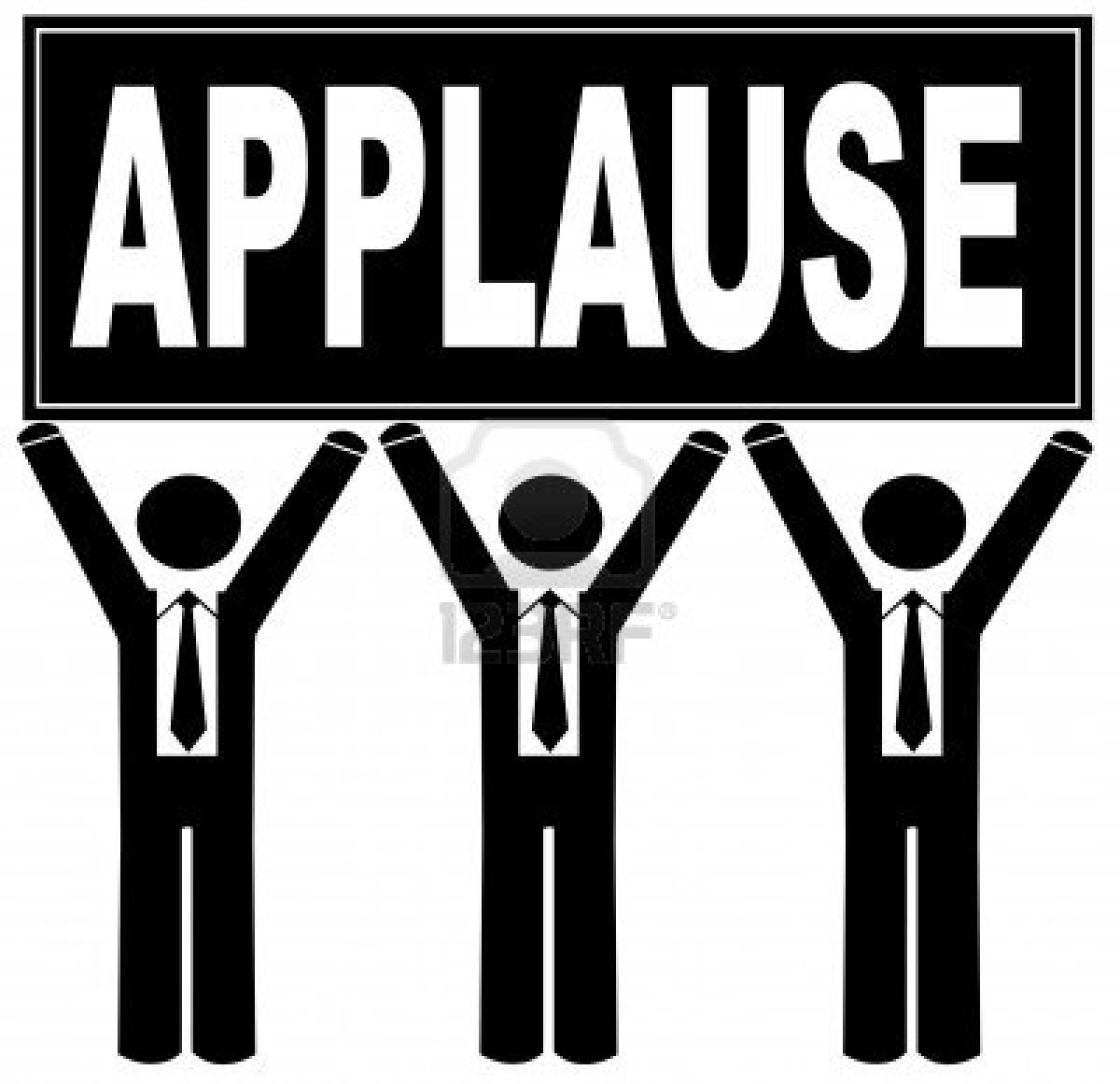 Applause Images Clip Art Give .