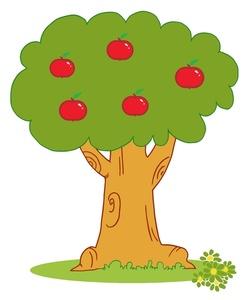 Apple Tree Clip Art-Apple Tree Clip Art-13