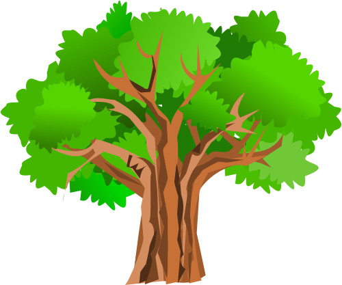apple tree clipart - Tree Clipart