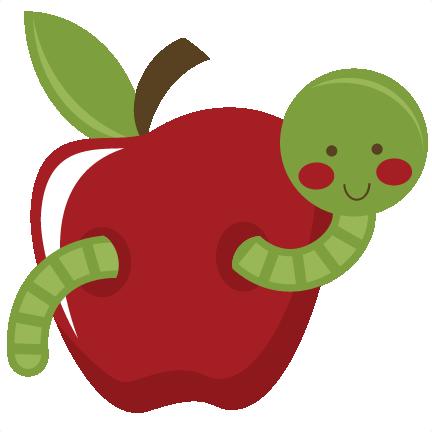 Apple Worm Clip Art-apple worm clip art-12