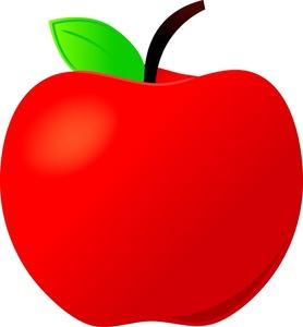Apple Clip Art Vector Clip Art Online Free