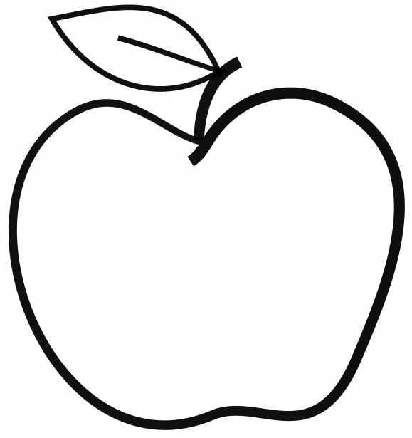 Apple Clip Art Free Stock Photo - Public Domain Pictures