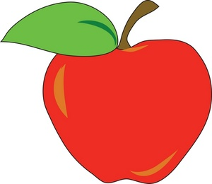 Apple Clip Art Vector Clip Ar - Apple Clipart