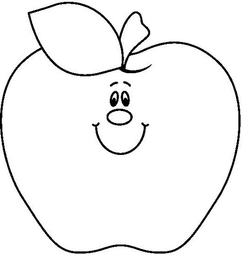 Apple clipart black and white 3 Apple clipart black and white 4 ...