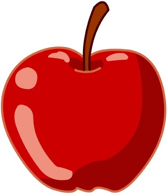 School Apple Clip Art - Clipart library