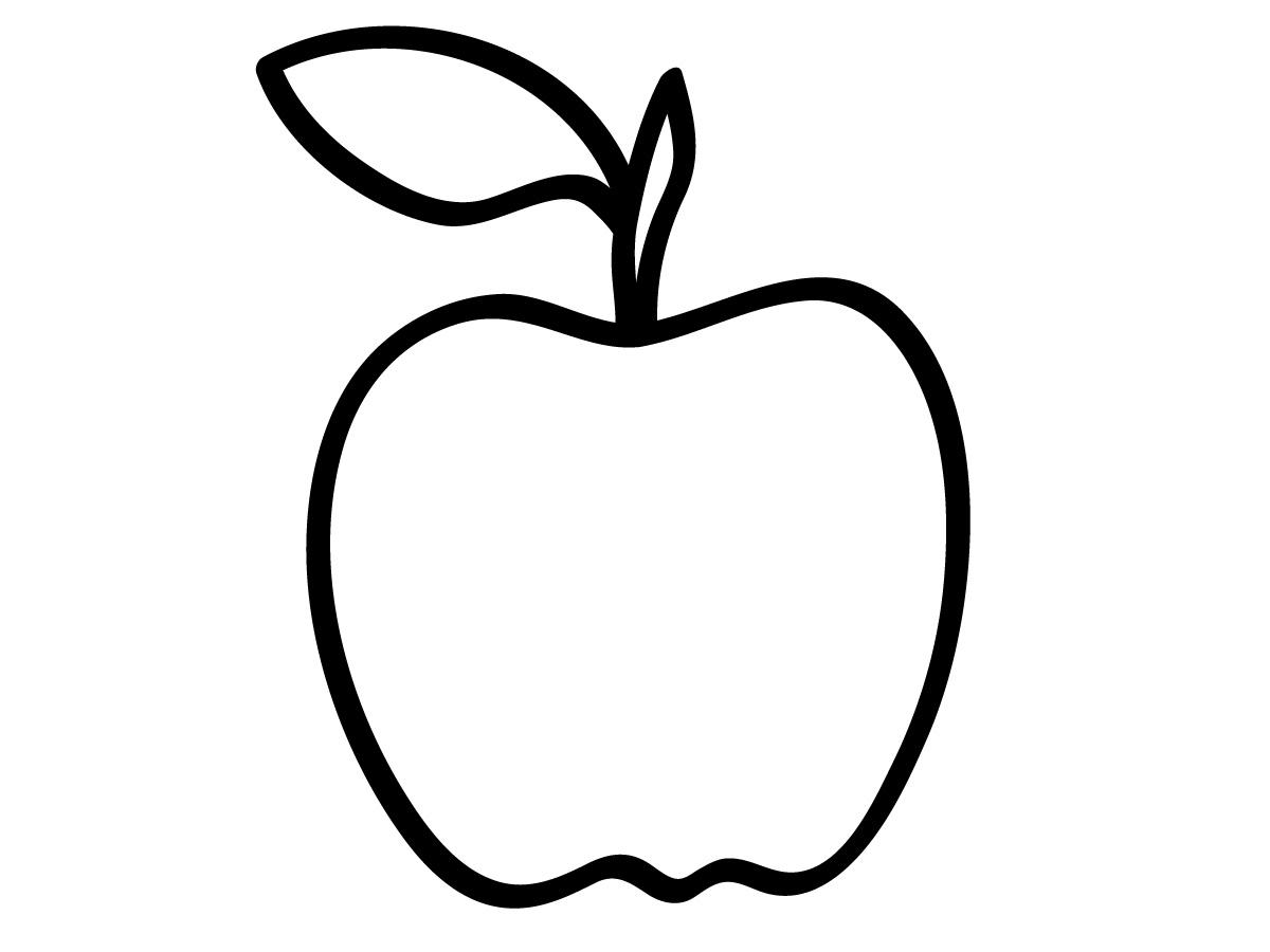Apple Coloring Clip Art Pacifier Clipart-Apple Coloring Clip Art Pacifier Clipart Black And White-9