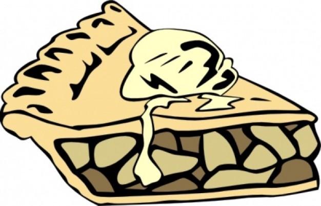 Apple Pie clip art Vector | Free Download