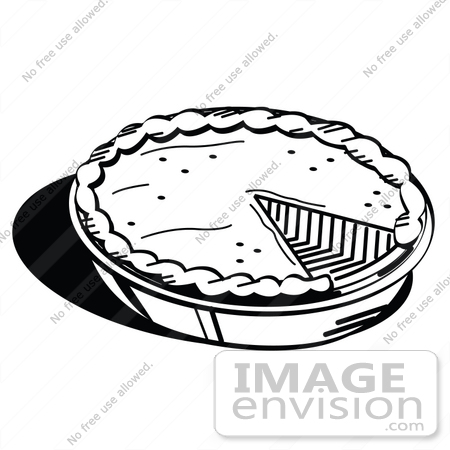 Apple Pie Clipart Black And White White Pumpkin Or Apple Pie