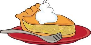 Apple Pie Slice Clipart #1