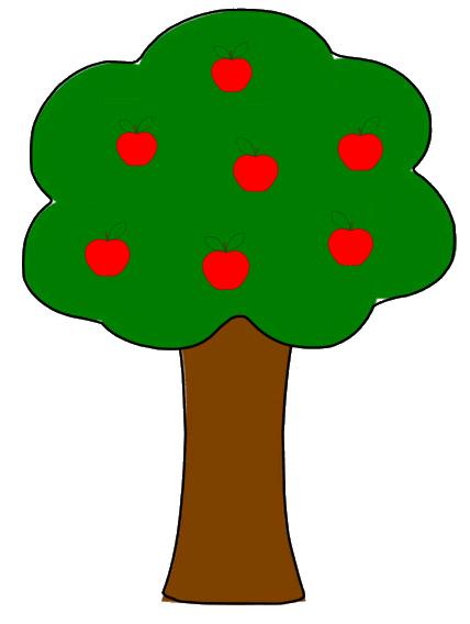 Apple tree clipart 2 .-Apple tree clipart 2 .-14