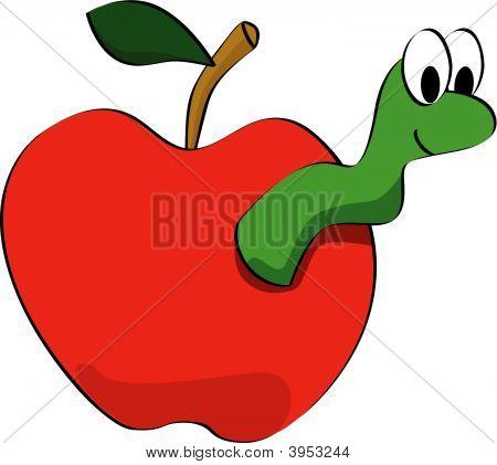Apple Worm Clip Art Clipart Panda Free Clipart Images