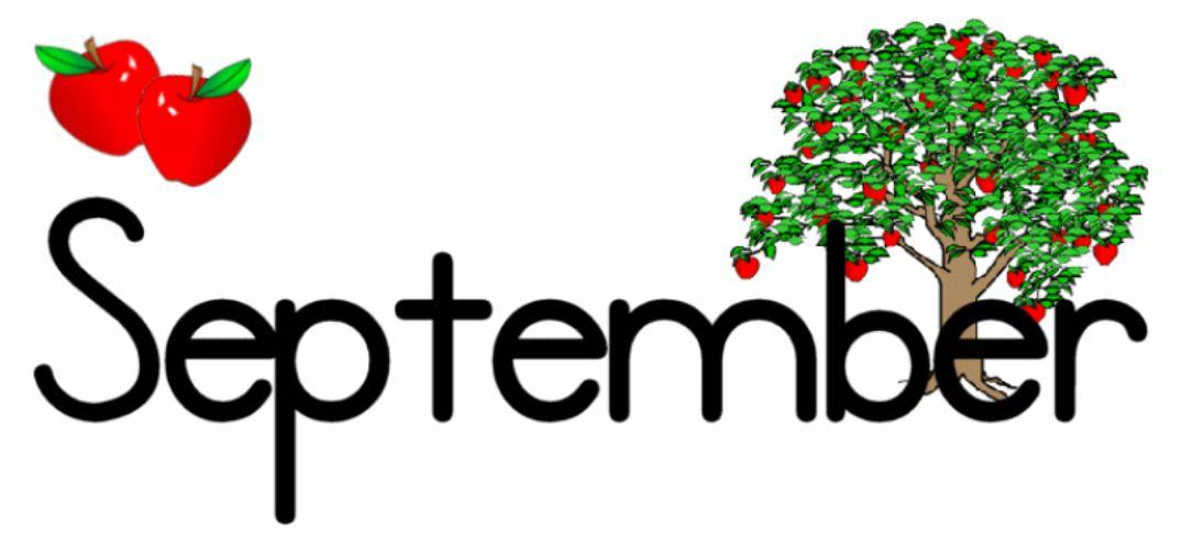 September Images Clip Art