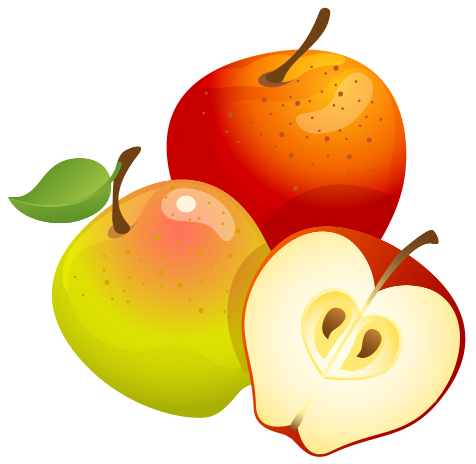 Apples Clip Art .-Apples Clip Art .-6