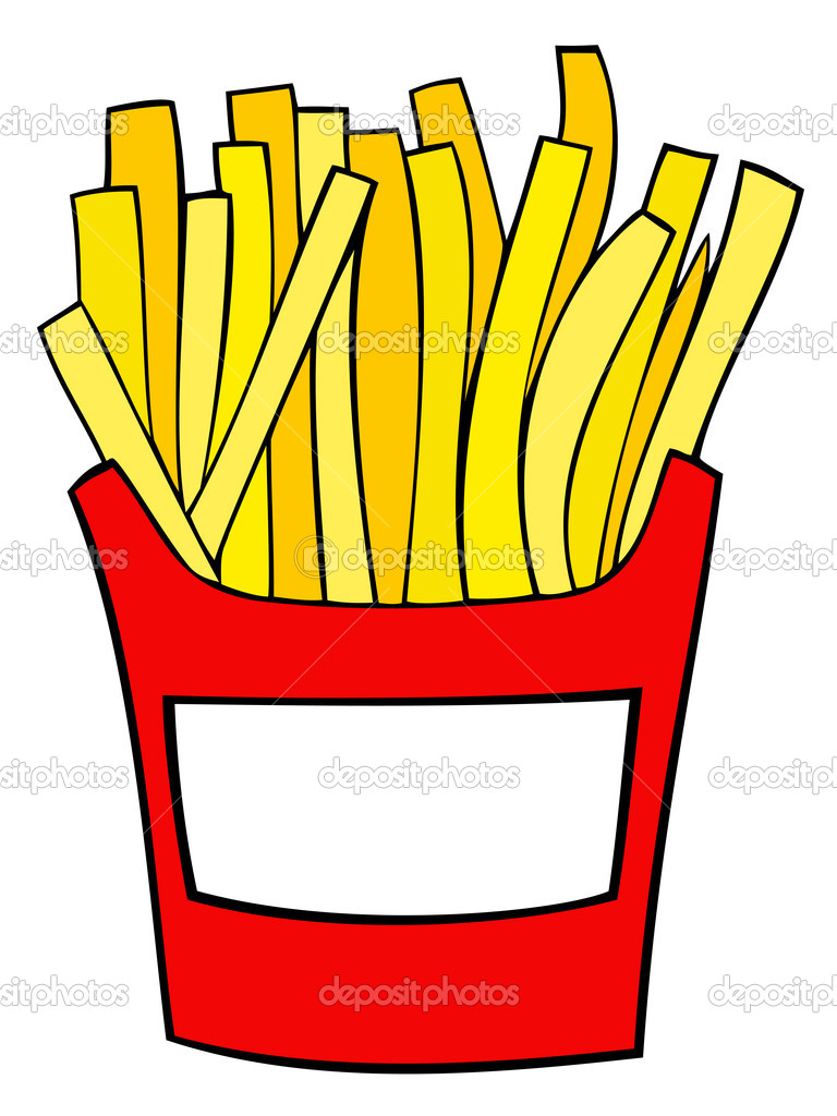 Arbys French Fry Clipart