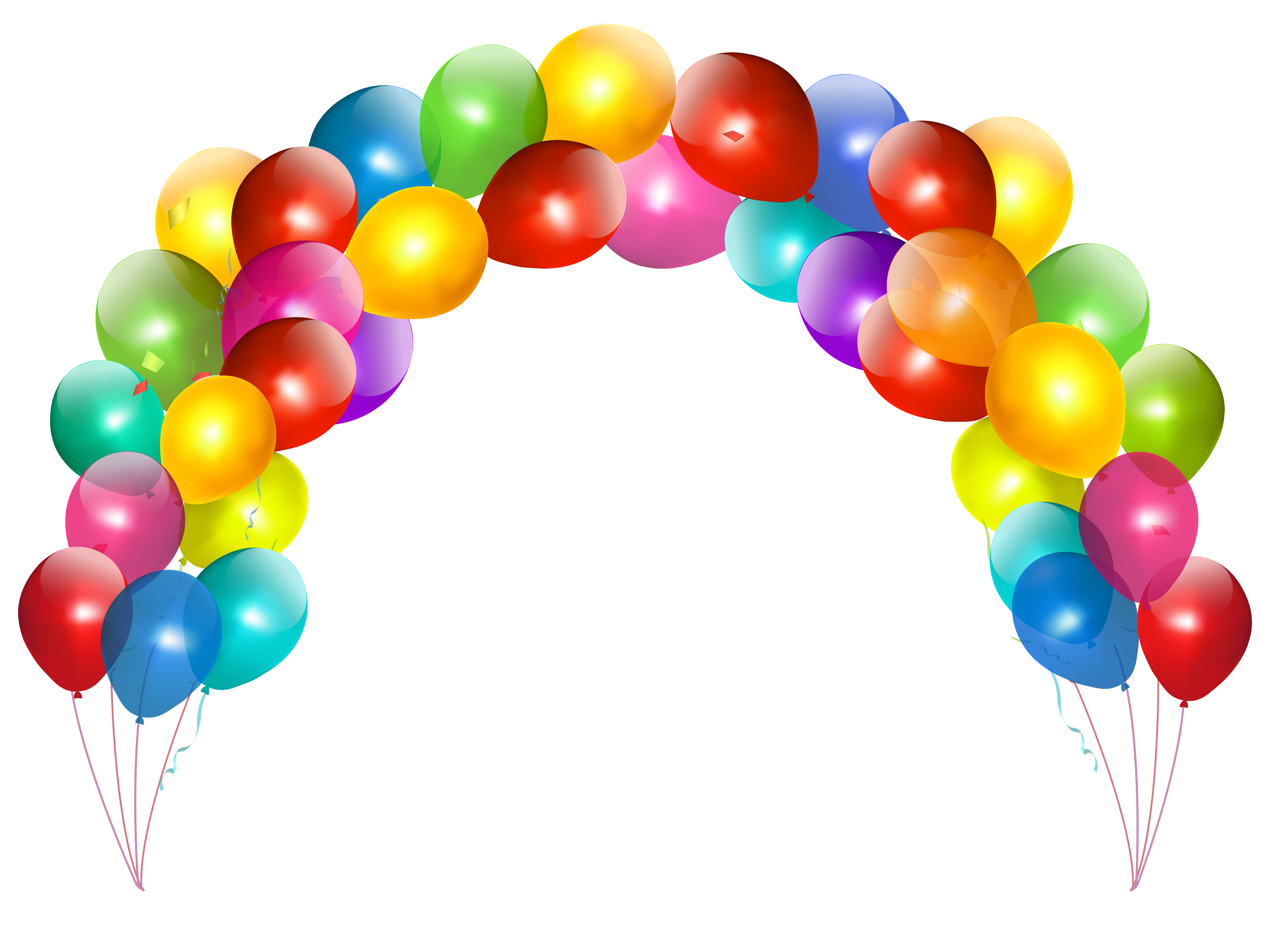Arch cliparts - Baloon Clip Art