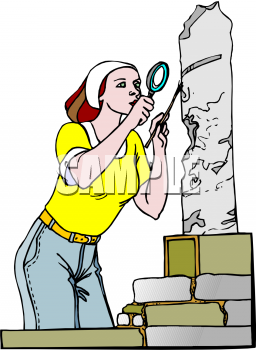 Archaeologist Clipart