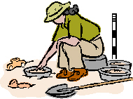 Female Archaeologist Clipart Careers