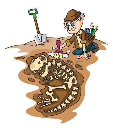 archaeology: Archeolog Illustration