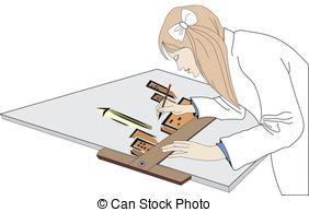 ... architect - illustration of architect