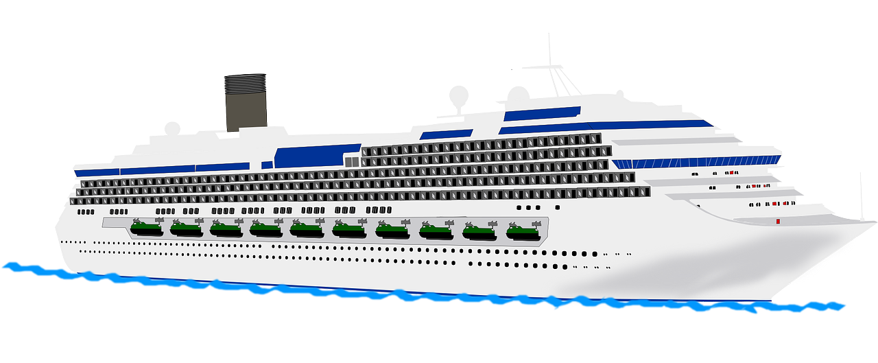 Are you looking for a clip art of a cruise ship? Stop searching as you can use this cruise ship clip art on your travel brochures, posters, magazines, ...