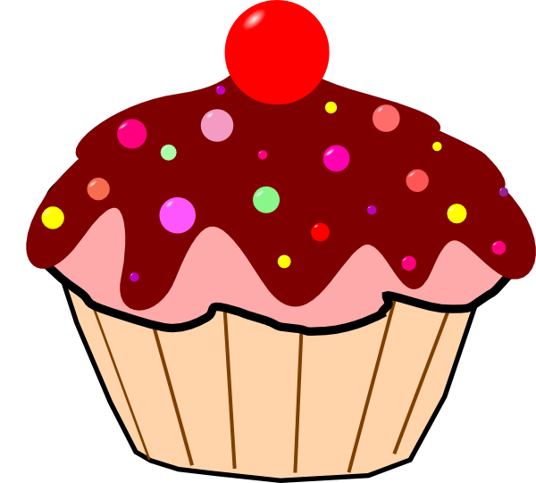 Are You Looking For A Cupcake Clip Art F-Are you looking for a cupcake clip art for use on your projects? Well you can use this cartoon cupcake clip art on your food projects, magazines, blogs, ...-3