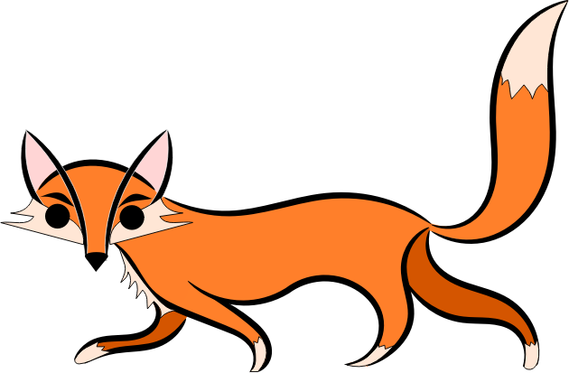 Are You Looking For A Fox Clip Art For U-Are you looking for a fox clip art for use on your projects? You can use this quick brown fox clip art on your websites, school projects, reference books, ...-7