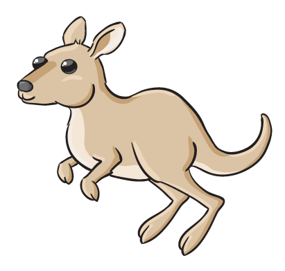 Are You Looking For A Kangaroo Clip Art -Are you looking for a kangaroo clip art for use on your projects? Search no more because this cute cartoon kangaroo clip art is free for use on your ...-0
