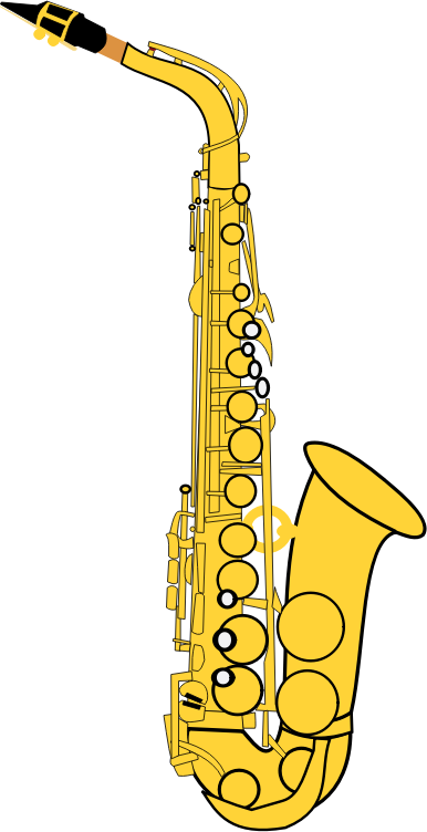 Clipart Saxophone