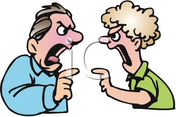 Argument Clipart 0511 1011 1513 3454 Two People Arguing Clipart Image