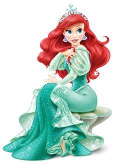 Ariel Clip Art