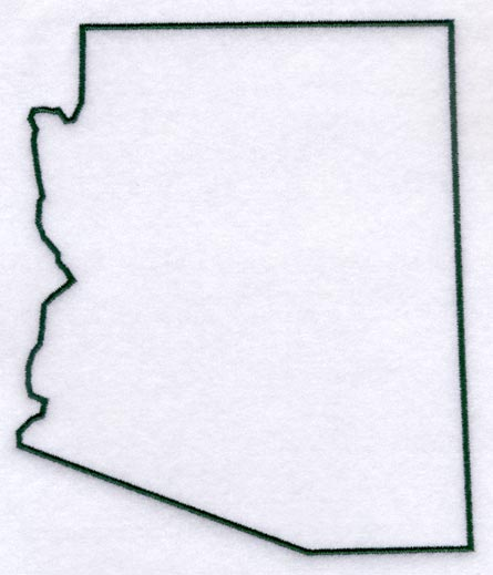 Arizona clipart outline - ClipartFest