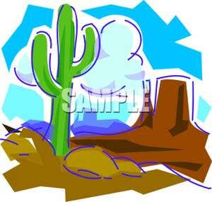 Arizona Desert Clip Art