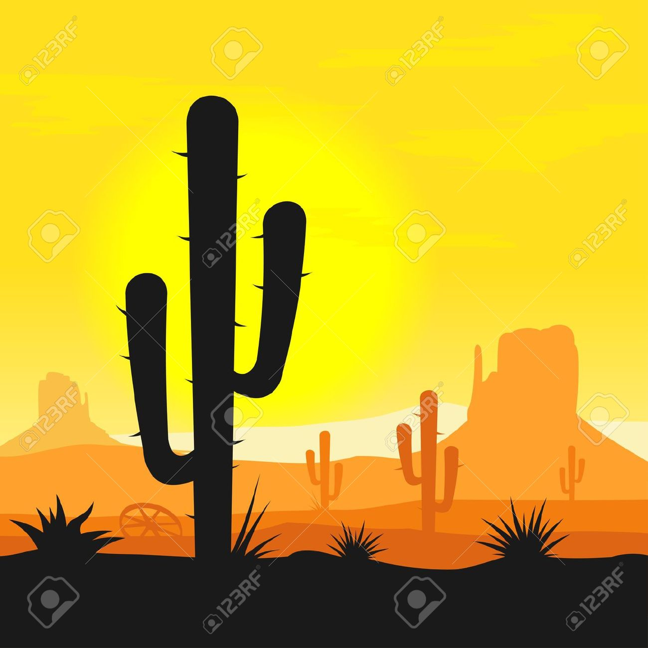 Arizona Desert Clip Art-Arizona Desert Clip Art-9