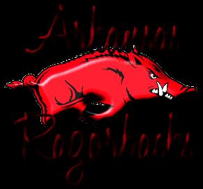 Arkansas Razorback Clipart #1