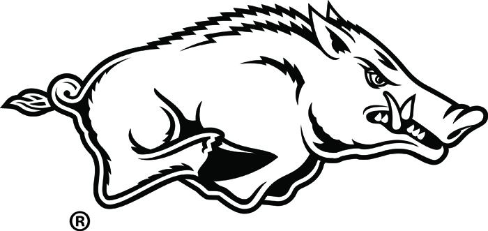 Arkansas Razorback Clipart; Razorback clipart ...