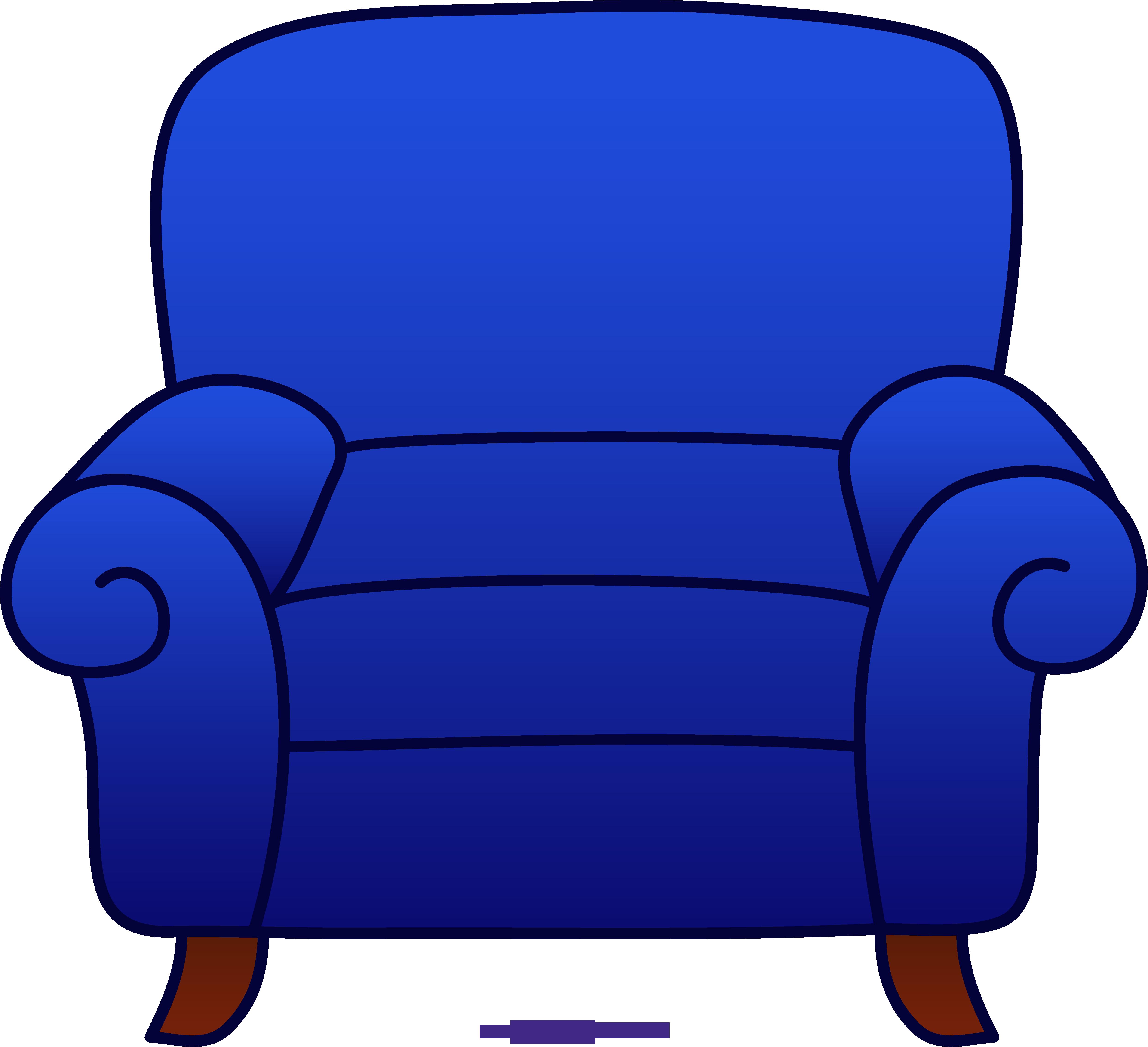 Armchair Blue Clipart-Armchair Blue Clipart-1