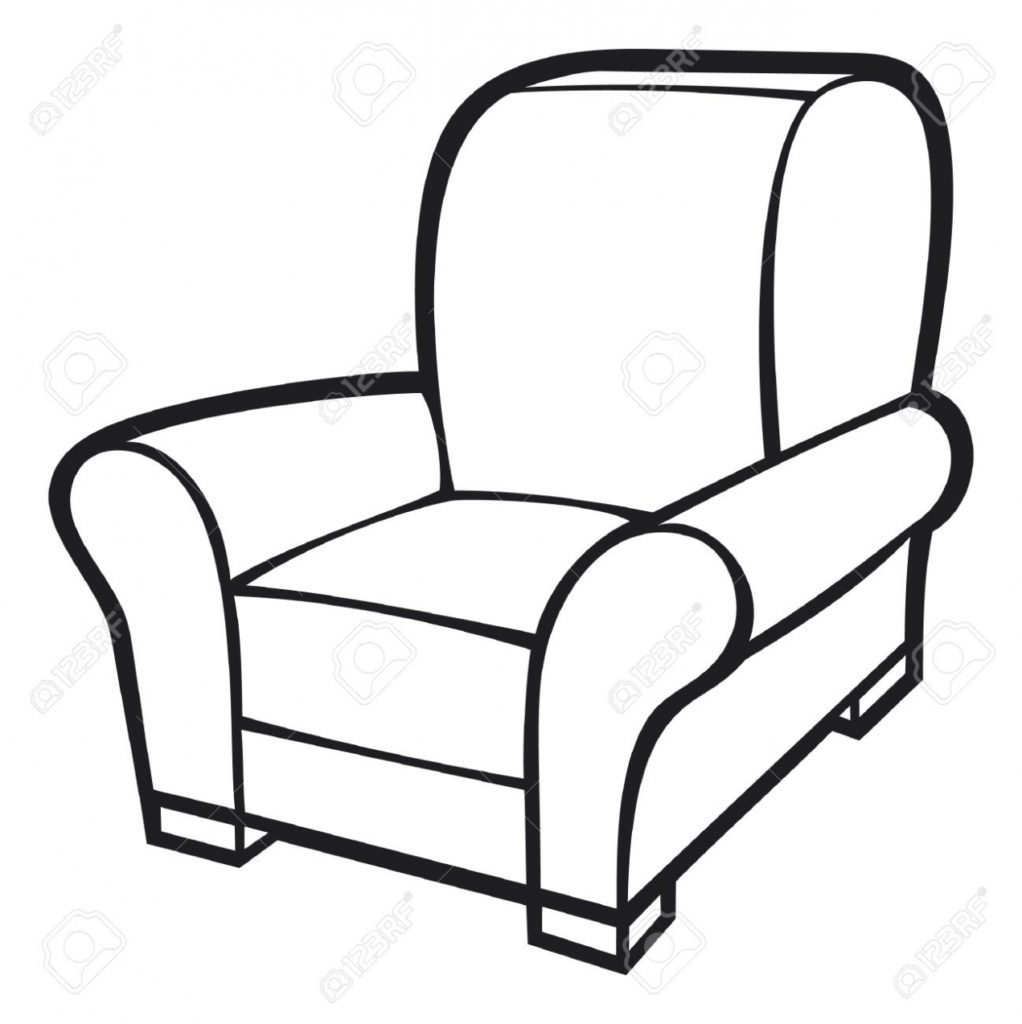 Chair Clipart Armchair Pencil And In Color Chair Clipart Armchair Armchair  Clipart