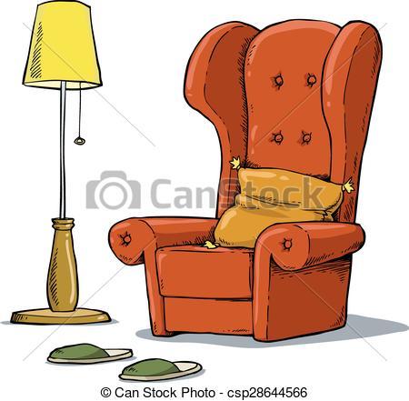Cozy armchair - csp28644566