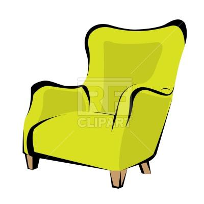 Retro Armchair, 1103, Download Royalty-f-Retro armchair, 1103, download royalty-free vector vector image ClipartLook.com -15