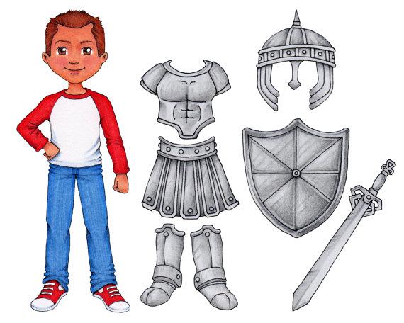 41 Armor Of God Clipart Clipartlook