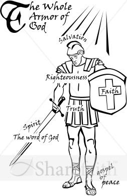 29 Armor Of God Clipart Clipartlook