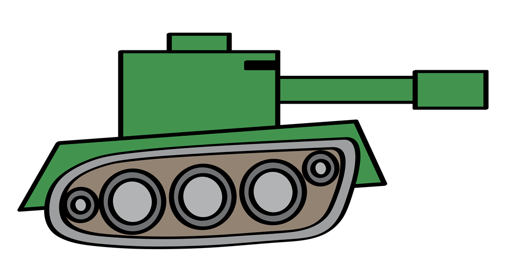 Army Tank Clipart-army tank clipart-1
