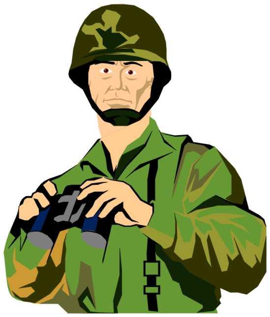 Army Officer Binoculars Clip Art-Army Officer Binoculars Clip Art-2